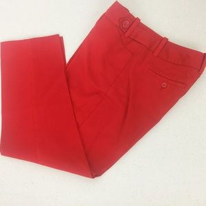 The Limited Red Cassidy Fit Ankle Dress Pant